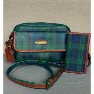 Vintage Polo by Ralph Lauren unisex bag and wallet
